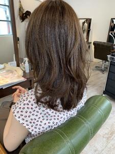 長さは変えたくないけど雰囲気は変えたいお客様スタイル!|Maria by afloatのヘアスタイル
