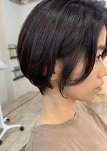 お客様スタイル☆ばっさり丸みショート|Maria by afloatのヘアスタイル