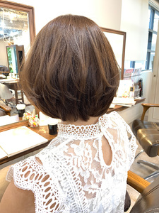お客様バッサリスタイル♪|Maria by afloatのヘアスタイル