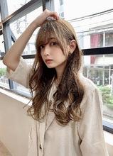 【重山】カジュアルデジタルパーマウエーブロング♪ Maria by afloatのヘアスタイル