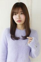 好印象を狙うなら、素髪風ストレートで決まり☆|Maria by afloat 上田 ヒロツグのヘアスタイル