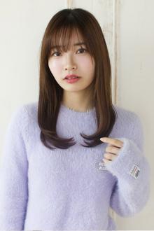 好印象を狙うなら、素髪風ストレートで決まり☆|Maria by afloatのヘアスタイル