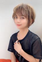 ナチュラル小顔ショート♪|Maria by afloatのヘアスタイル
