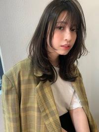 【山田】小顔レイヤーマッシュウルフセミデイy269