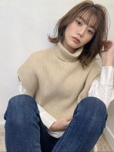 大人エアリーくびれミディ|Maria by afloat 須田 ゆかりのヘアスタイル