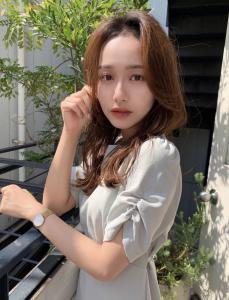 韓国風小顔色気ひし形スタイル Maria by afloatのヘアスタイル
