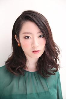 大人女子のためのミディボブ|MASHU 北堀江店のヘアスタイル