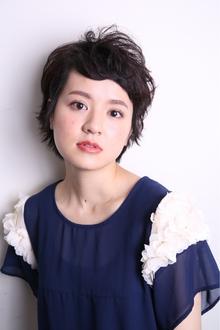 フレンチショート|MASHU 北堀江店のヘアスタイル