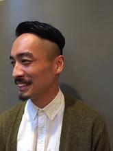 ジェントルマンリーゼントスタイル|MASHU 北堀江店のヘアスタイル