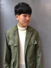 スマートマッシュ刈り上げスタイル|MASHU 北堀江店のヘアスタイル