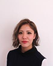 メルトカラー無造作ウェーブボブ|MASHU 北堀江店のヘアスタイル