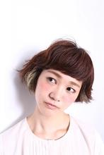カジュアルボブ|MASHU 北堀江店のヘアスタイル