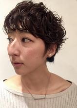 パーマのショートスタイル|MASHU 北堀江店のヘアスタイル