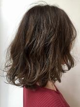 ローライトのデザインカラースタイル|MASHU 北堀江店のヘアスタイル