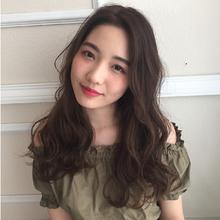 外国人風ゆるふわラフウェーブ|MASHU 北堀江店のヘアスタイル