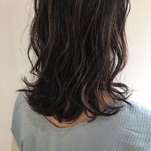 立体感カラー|MASHU あべのnini店 木内 みのりのヘアスタイル