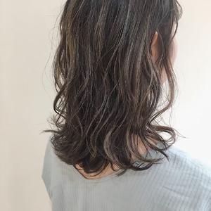 ハイライト|MASHU あべのnini店のヘアスタイル