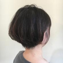 大人ショート|MASHU あべのnini店のヘアスタイル