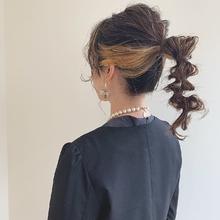ヘアセット|MASHU あべのnini店のヘアスタイル