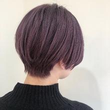 ピンクパープル|MASHU あべのnini店のヘアスタイル