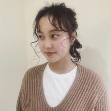 ヘアアレンジ|MASHU あべのnini店のヘアスタイル