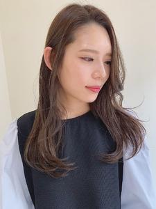 モーヴベージュ|MASHU あべのnini店のヘアスタイル