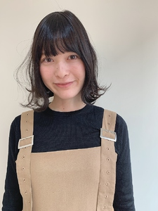 ミルクティーボブ|MASHU あべのnini店のヘアスタイル
