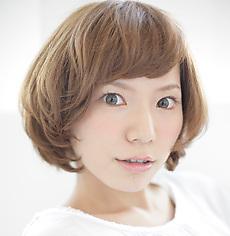 creamy bob  MASHU あべのnini店のヘアスタイル