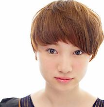 ナチュラルモードショート |MASHU あべのnini店のヘアスタイル