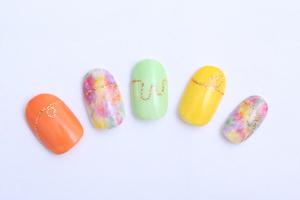 春ネイル|MASHU あべのnini店のネイル