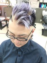 THROWで作るメンズヴァイオレットがカッコイイ( ´ ▽ ` )ノ|MEGAMI 美容室 西淀川区 塚本店のメンズヘアスタイル