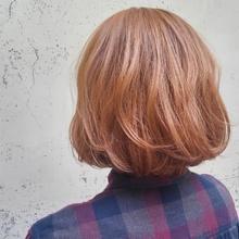 ベビーピンク☆|MEGAMI BeautyShop 西淀川区 塚本店のヘアスタイル