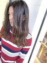 くすみ系カラーが好きな方にオススメ^_^|MEGAMI BeautyShop 西淀川区 塚本店のヘアスタイル