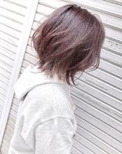 春にオススメな淡いピンク系カラー^_^|MEGAMI BeautyShop 西淀川区 塚本店のヘアスタイル