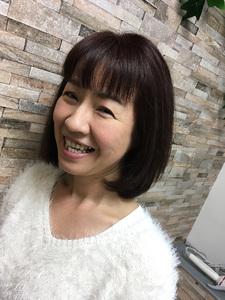 くせ毛の人もスタイリングしやすく♪ MEGAMI BeautyShop 西淀川区 塚本店のヘアスタイル