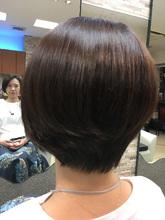 ノンブローショート|MEGAMI 美容室 西淀川区 塚本店のヘアスタイル