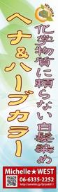 天然へナ&髪質改善・アレルギー・自然派ミッシェル★ウエスト