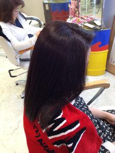 イチゴカラーで上品に|天然へナ&髪質改善・アレルギー・自然派ミッシェル★ウエストのヘアスタイル