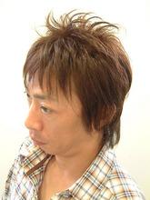 モテガミヘアー|天然へナ&髪質改善・アレルギー・自然派ミッシェル★ウエストのメンズヘアスタイル