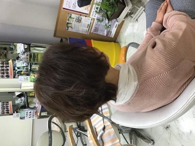 乾かすだけで簡単なスタイル|天然へナ・アレルギー改善・自然派ミッシェル★ウエストのヘアスタイル
