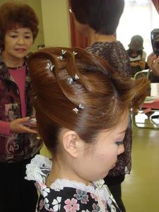 大人もゆかたで、お出かけ|hair & beauty 路美容室のヘアスタイル