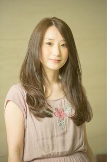 綺麗なヌーディロング|MINX 青山店のヘアスタイル