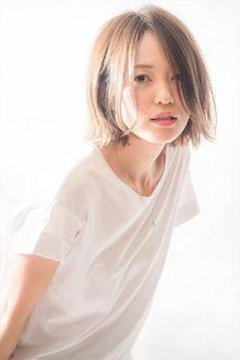 夏を彩るシースルーカラーボブ MINX 青山店のヘアスタイル