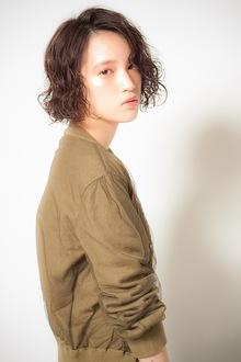 【MINX】ラブリ風ヘアスタイル★おフェロなAラインボブ|MINX 青山店のヘアスタイル