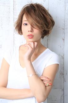 newバランスショートボブ! MINX 青山店のヘアスタイル