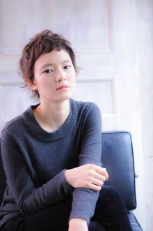 メリハリショート|MINX 青山店のヘアスタイル