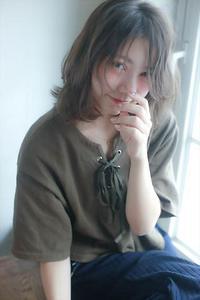 矢野未希子さん風 外国人風ナチュラルロブ