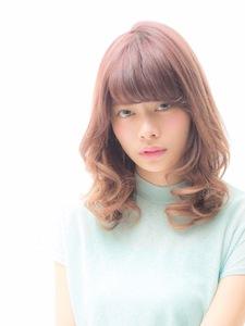 美髪になる愛され潤しヘア|MINX 青山店のヘアスタイル