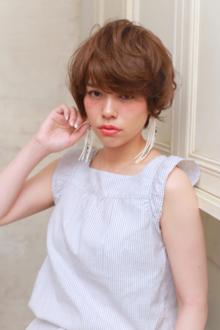 大人sweet 愛されパーマショート|MINX 青山店のヘアスタイル