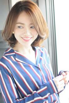 大人女子のひし形ハイクラスボブ|MINX 青山店のヘアスタイル